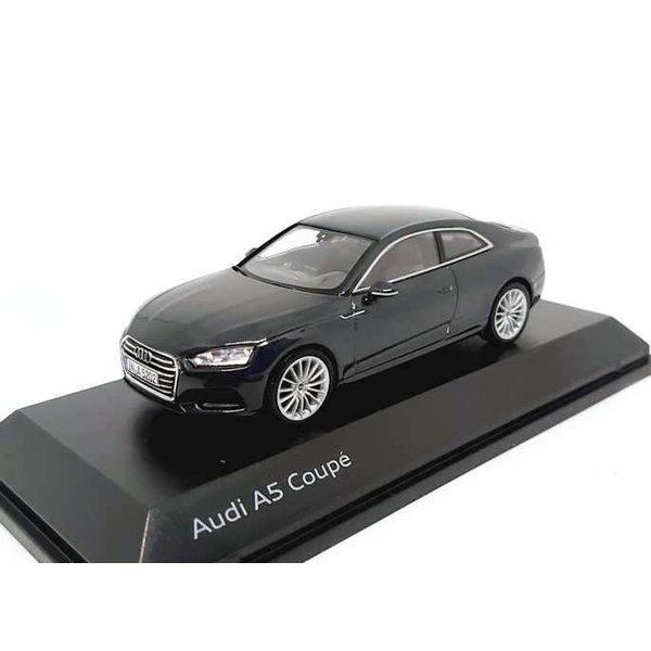 Model car Audi A5 Coupe 2017 Manhattan grey 1:43   Spark