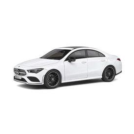 Solido Mercedes Benz CLA (C118) AMG line 2019 wit - Modelauto 1:18