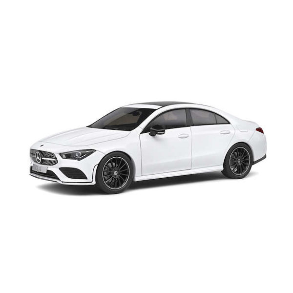 Mercedes Benz CLA (C118) 1:18 AMG line white 2019   Solido