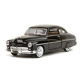 Motormax Modelauto Mercury Coupe 1949 zwart 1:24