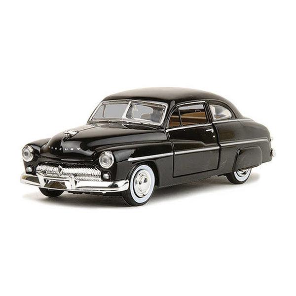 Model car Mercury Coupe 1949 black 1:24 | Motormax
