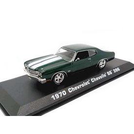 Greenlight | Modelauto Chevrolet Chevelle SS 396 1970 groen 1:43