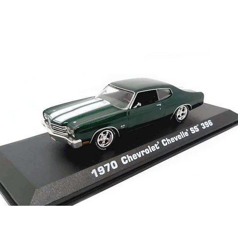 Chevrolet Chevelle SS 396 1970 groen - Modelauto 1:43