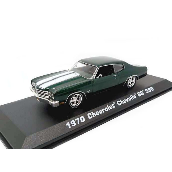 Model car Chevrolet Chevelle SS 396 1970 green 1:43 | Greenlight