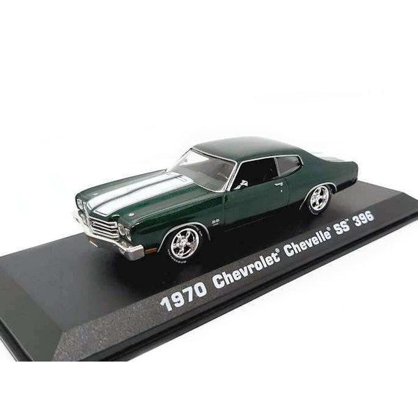 Modelauto Chevrolet Chevelle SS 396 1970 groen 1:43 | Greenlight