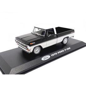 Greenlight Ford F-100 1970 schwarz/weiß - Modellauto 1:43