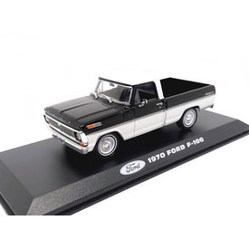 Greenlight Ford F-100 1970 zwart/wit - Modelauto 1:43