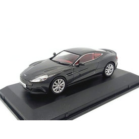 Oxford Diecast Aston Martin Vanquish Coupe Quantum zilver - Modelauto 1:43