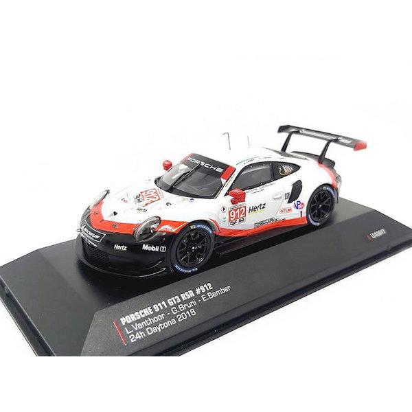 Model car Porsche 911 GT3 RSR No. 912 2018 1:43   Ixo Models