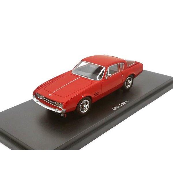 Modelauto Ghia 230 S 1963 rood 1:43    BoS Models