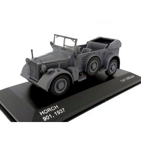 WhiteBox Model car Horch 901 1937 dark grey 1:43