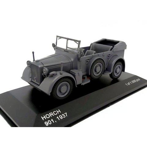 Horch 901 1937 dark grey - Model car 1:43