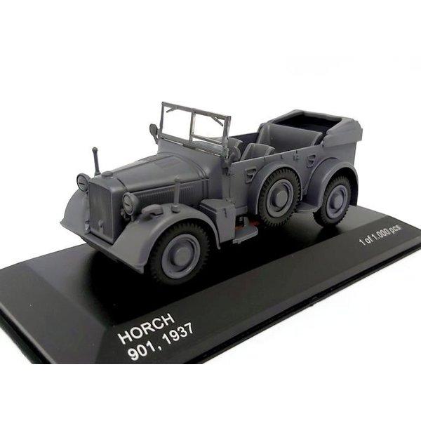 Model car Horch 901 1937 dark grey 1:43 | WhiteBox