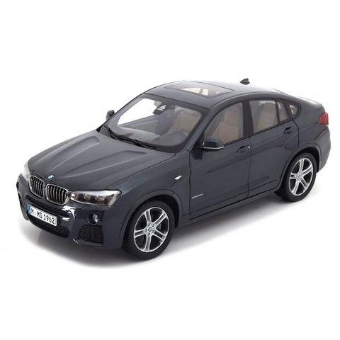 Model car BMW X4 (F26) 2014 Sophisto grey 1:18