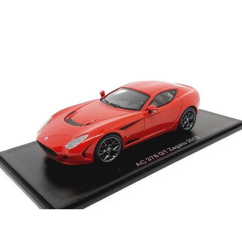 Model car AC 378 GT Zagato 2012 red 1:43