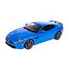 Jaguar XKR-S 1:24 blauw   Bburago