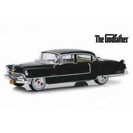 Greenlight Modellauto Cadillac Fleetwood Series 60 1955 schwarz 1:24