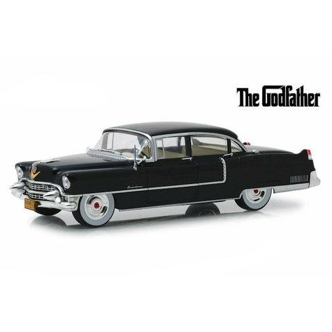 Model car Cadillac Fleetwood Series 60 1955 black 1:24