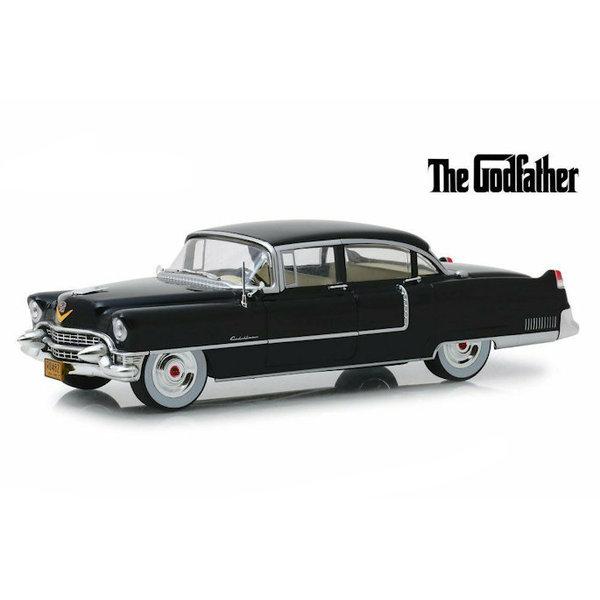 Model car Cadillac Fleetwood Series 60 1955 black 1:24   Greenlight