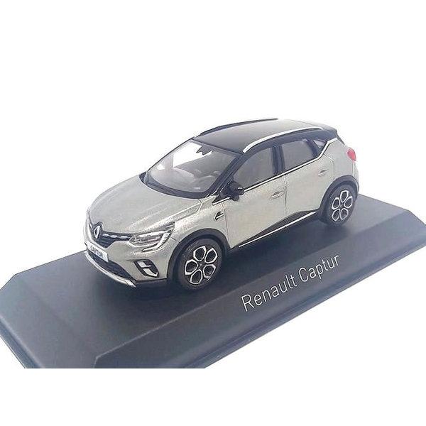 Renault Captur 1:43 grijs/zwart 2020   Norev