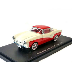 BoS Models Modelauto Rometsch Lawrence Coupe 1959 creme/rood 1:43