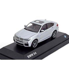 Herpa Model car BMW X4 (F26) 2015 silver 1:43