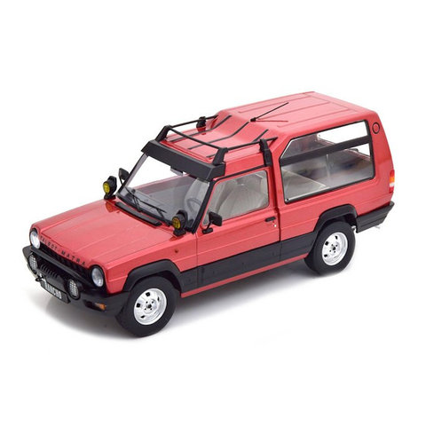 Model car Talbot Matra Rancho X 1977 red metallic 1:18