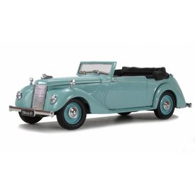 Oxford Diecast Armstrong Siddeley Hurricane turquoise 1:43