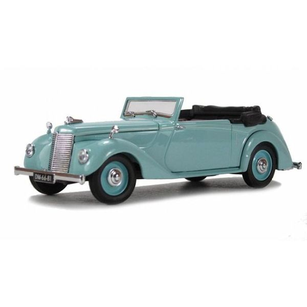 Model car Armstrong Siddeley Hurricane turquoise 1:43