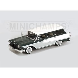 Minichamps Edsel Bermuda Station Wagon 1958 green/white - Model car 1:43