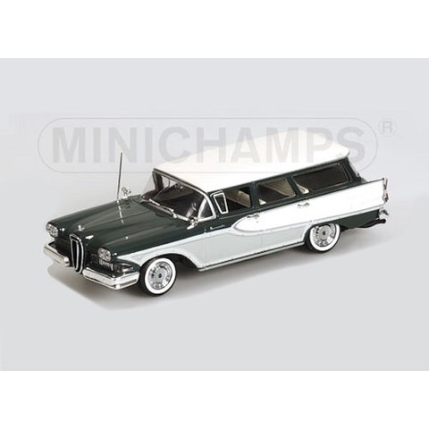 Edsel Bermuda Station Wagon 1958 grün/weiß - Modellauto 1:43