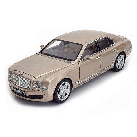 Bentley Mulsanne champagne 1:18