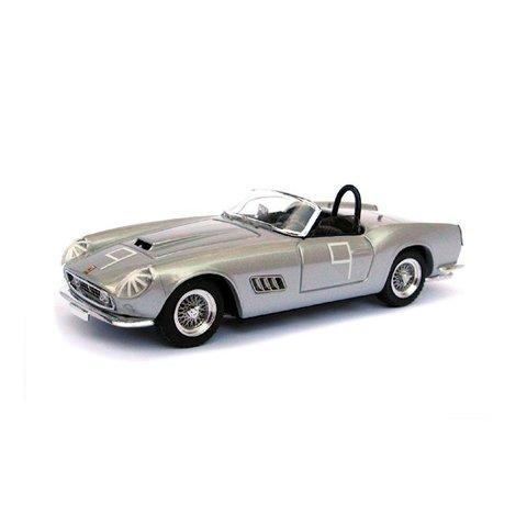 Ferrari 250 California No. 9 1959 zilver - Modelauto 1:43