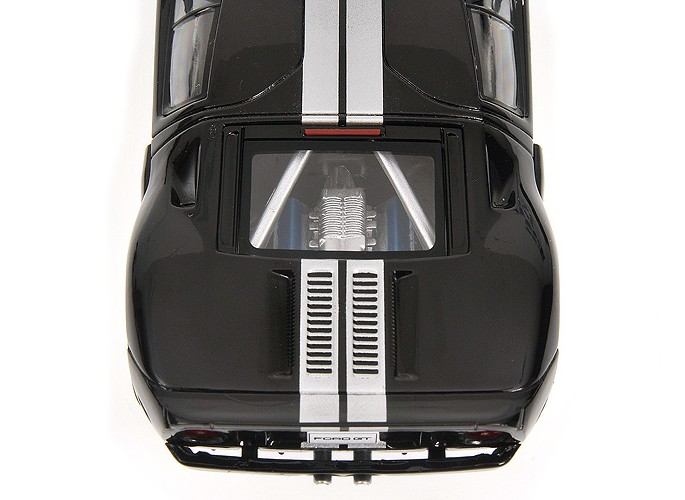 Ford Gt 2006 Black Minichamps 1:43 400084204 Modellbau Diecast