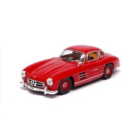 De Agostini Mercedes Benz 300 SL Coupe 1954 rood 1:43