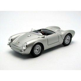 Maisto Porsche 550 A Spyder 1950 silver - Model car 1:18