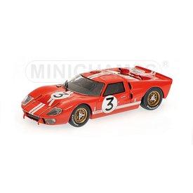 Minichamps | Model car Ford GT40 MK II 1966 No. 3 red 1:43