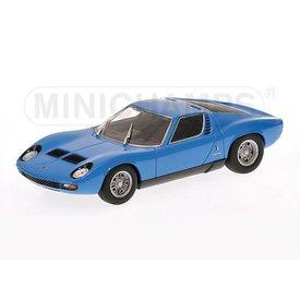 Minichamps Lamborghini Miura SV 1971 blauw - Modelauto 1:43