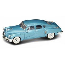 Lucky Diecast Tucker Torpedo 1948 blauw - Modelauto 1:43