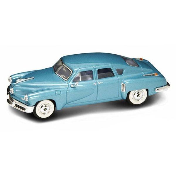 Modelauto Tucker Torpedo 1948 blauw 1:43