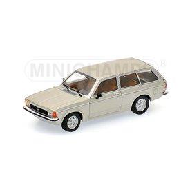 Minichamps Opel Kadett C Caravan L 1978 zilver - Modelauto 1:43