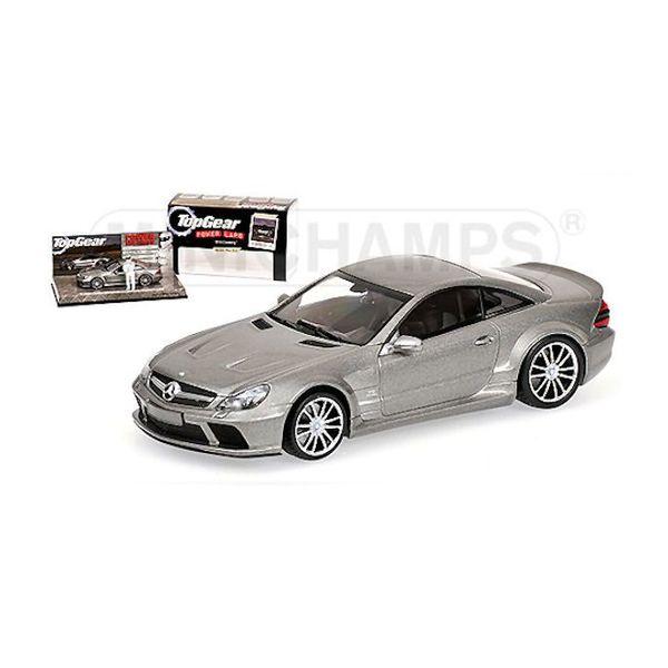 Model car Mercedes Benz SL65 AMG (R230) 2009 grey 1:43 | Minichamps