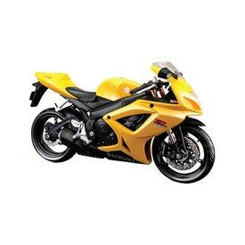 Maisto Suzuki GSX-R 600 yellow - Model motorcycle 1:12