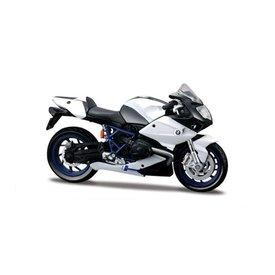 Maisto BMW HP2 Sport wit/zwart 1:18