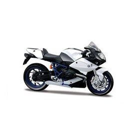 Maisto BMW HP2 Sport wit/zwart - Modelmotor 1:18
