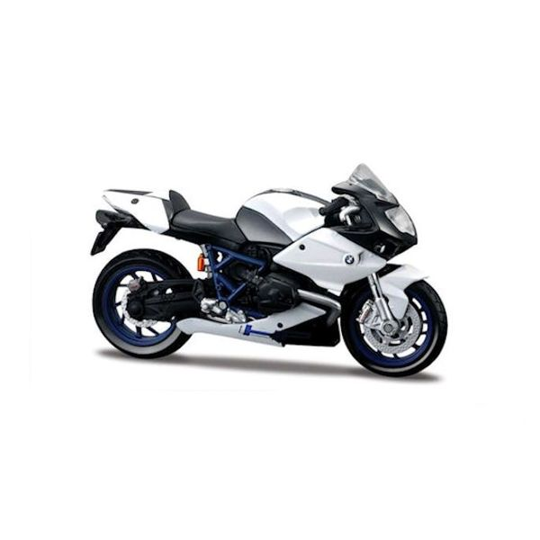 Model motorcycle BMW HP2 Sport white/black 1:18