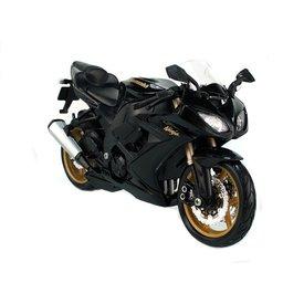 Maisto Kawasaki Ninja ZX-10R schwarz - Modell-Motorrad 1:12