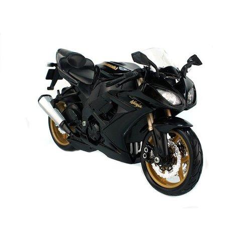 Kawasaki Ninja ZX-10R black - Model motorcycle 1:12