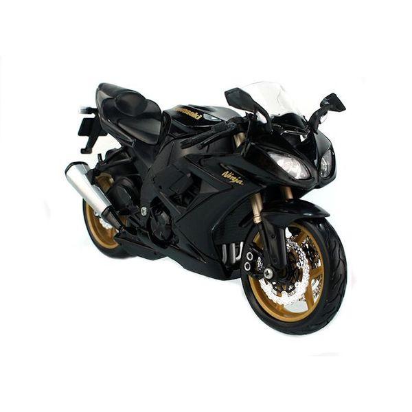 Model motorcycle Kawasaki Ninja ZX-10R black 1:12   Maisto