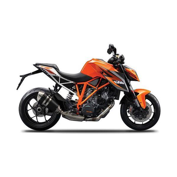 Model motorcycle KTM 1290 Super Duke R orange/black 1:12
